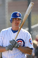 Brad Snyder. Chicago Cubs spring training workouts at Fitch Park complex, Mesa, AZ - 03/01/2010.Photo by:  Bill Mitchell/Four Seam Images.