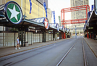 Buffalo: Auditorium Station, Metro, Downtown. Photo '88.
