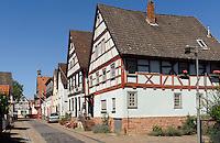 Fachwerkhäuser in  Wörth am Main, Bayern, Deutschland