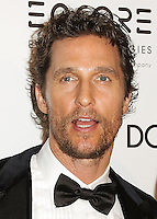 BEVERLY HILLS, CA, USA - OCTOBER 21: Matthew McConaughey arrives at the 28th American Cinematheque Award Honoring Matthew McConaughey held at The Beverly Hilton Hotel on October 21, 2014 in Beverly Hills, California, United States. (Photo by Celebrity Monitor)