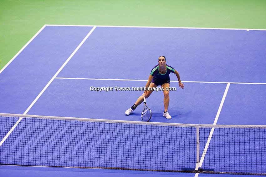 December 21, 2014, Rotterdam, Topsport Centrum, Lotto NK Tennis, Bibianne Weijers (NED)<br /> Photo: Tennisimages/Henk Koster