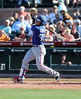 David Garcia - Texas Rangers 2020 spring training (Bill Mitchell)