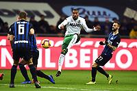 Kevin Prince Boateng<br /> Milano 19-1-2019 Giuseppe Meazza stadium Football Serie A 2018/2019 Inter - Sassuolo <br /> Foto Image Sport / Insidefoto