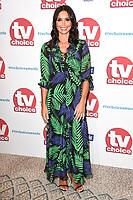 Chrisatine Bleakley<br /> arriving for the TV Choice Awards 2017 at The Dorchester Hotel, London. <br /> <br /> <br /> ©Ash Knotek  D3303  04/09/2017