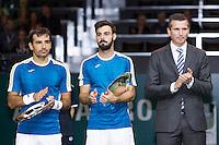 ABN AMRO World Tennis Tournament, Rotterdam, The Netherlands, 19 Februari, 2017, Ivan Dodig (CRO), Marcel Granollers (ESP)<br /> Photo: Henk Koster