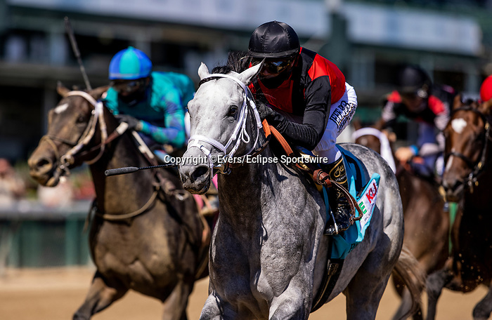 September 5, 2020: Rushie with Javier Castellano wins the Pat Day Milet at Churchill Downs in Louisville, Kentucky, on September 05, 2020. Evers/Eclipse Sportswire/CSM