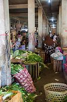 Yogyakarta, Java, Indonesia. Beringharjo Market Interior.