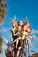 Nice le 19 Fevrier 2107 Place Massena unique sotie du Corso Carnavalesque Parada Nissarda de jour Body Power