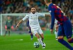 Real Madrid CF's Dani Carvajal during La Liga match. Mar 01, 2020. (ALTERPHOTOS/Manu R.B.)