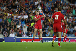 Glasgow 2014 Commonwealth Games<br /> James Davies<br /> Wales v Samoa<br /> Ibrox Stadium<br /> <br /> 26.07.14<br /> ©Steve Pope-SPORTINGWALES