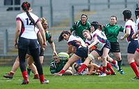 Saturday 20th April 2019 | 2019 Ulster Women's Junior Cup Final<br /> <br /> Jenna Stewart during the Ulster Women's Junior Cup final between Malone and City Of Derry at Kingspan Stadium, Ravenhill Park, Belfast. Northern Ireland. Photo John Dickson/Dicksondigital
