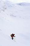 Ski descent of Lodalskapa, Norway, April 2006.