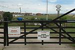 Shellness Private Estate, near Leysdown. Isle of Sheppey Kent UK.