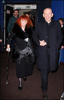 SONIA RYKIEL & JEAN PAUL GAULTIER - PROJECTION DU DOCUMENTAIRE ' LE JOUR D'AVANT ' AU CINEMA L'ARLEQUIN.