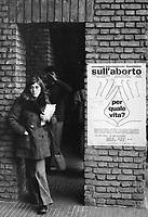 - Milano, congresso internazionale femminista sull'aborto presso l'Università Statale (Maggio 1975)<br /> <br /> - Milan, international feminist congress on abortion at the State University (May 1975)