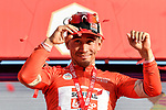 Green Jersey holder Caleb Ewan (AUS) Lotto-Soudal wins Stage 2 the Dubai Municipality Stage and takes over the race leaders Red Jersey of the UAE Tour 2020 running 168km from Hatta to Hatta Dam, Dubai. 24th February 2020.<br /> Picture: LaPresse/Fabio Ferrari   Cyclefile<br /> <br /> All photos usage must carry mandatory copyright credit (© Cyclefile   LaPresse/Fabio Ferrari)