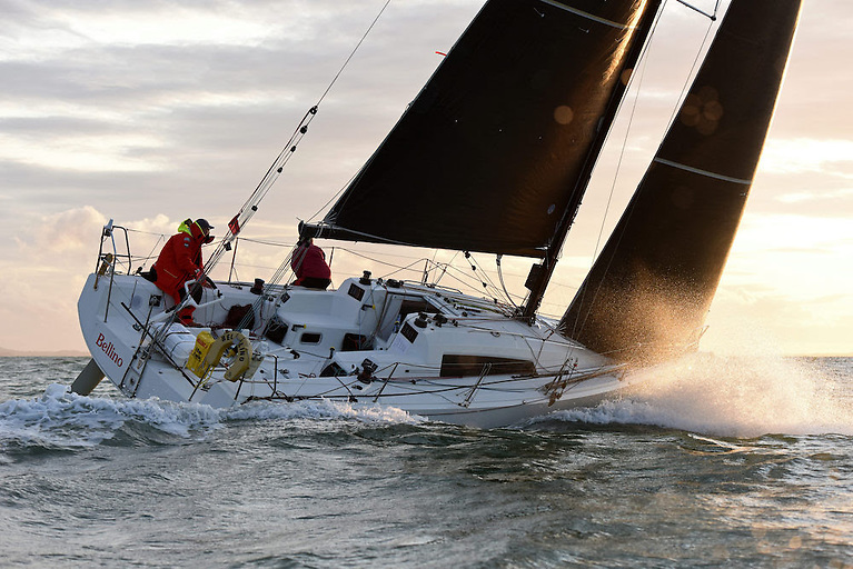 Rob Craigie's Sun Fast 3600 Bellino, racing Two-Handed with Deb Fish © Rick Tomlinson/RORC
