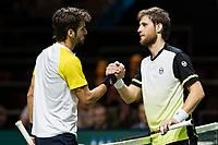 Rotterdam, Netherlands, 12 Februari, 2018, Ahoy, Tennis, ABNAMROWTT, Feliciano Lopez (SPA), Martin Klizan (SVK)<br /> Photo:tennisimages.com