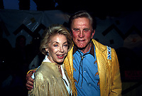 **FILE PHOTO** Anne Douglas Has Passed Away.<br /> <br /> Anne Douglas And Kirk Douglas   1990    <br /> CAP/MPI/RAP<br /> ©RAP/MPI/Capital Pictures