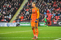 Sheffield United's goalkeeper Dean Henderson  (1) during the Sky Bet Championship match between Sheff United and Leeds United at Bramall Lane, Sheffield, England on 1 December 2018. Photo by Stephen Buckley / PRiME Media Images.