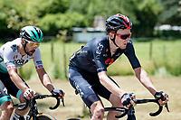 Tao Geoghegan Hart (GBR/INEOS Grenadiers)<br /> <br /> 73rd Critérium du Dauphiné 2021 (2.UWT)<br /> Stage 6 from Loriol-sur-Drome to Le Sappey-en-Chartreuse (167km)<br /> <br /> ©kramon