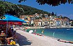 Kroatien, Kvarner Bucht, Moscenicka Draga: Badeort mit Kiesstrand  an der Kvarner Riviera | Croatia, Moscenicka Draga: resort at the Kvarner Riviera