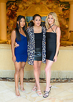 LAS VEGAS, NV - July 15, 2021: Katie Morton, Lori Krebs and Hannah Godwin pictured in a Villa at Westgate Las Vegas Resort & Casino in Las Vegas, NV on July 15, 2021. <br /> CAP/MPI/GDP<br /> ©GDP/MPI/Capital Pictures
