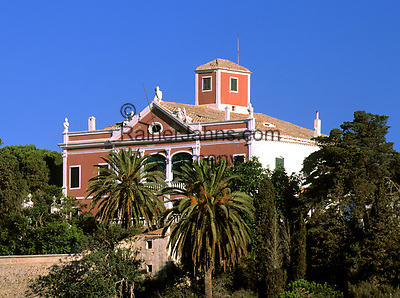 Spanien, Balearen, Menorca, bei Mahon: Golden Farm - hier weilte einst Lord Nelson | Spain, Balearic Islands, Menorca, near Mahon: Golden Farm - Lord Nelson once stayed here