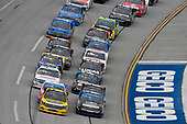 NASCAR Camping World Truck Series<br /> Fred's 250<br /> Talladega Superspeedway<br /> Talladega, AL USA<br /> Saturday 14 October 2017<br /> Grant Enfinger, Champion Power Equipment / Curb Records Toyota Tundra and Christopher Bell, Toyota Toyota Tundra<br /> World Copyright: Nigel Kinrade<br /> LAT Images