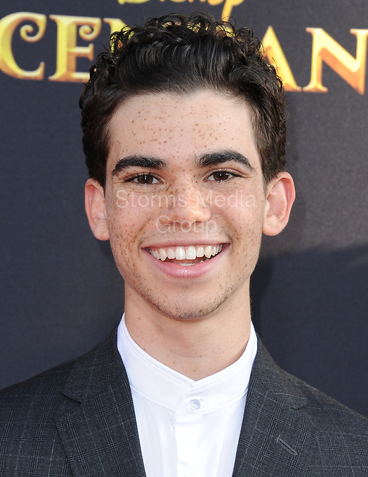 LOS ANGELES, CA - JULY 11: Cameron Boyce  attends the premiere of Disney Channel's 'Descendants 2' on July 11, 2017 in Los Angeles, California.<br /> <br /> People:  Cameron Boyce
