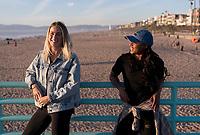 Manhattan Beach, CA - January 13, 2018: The USWNT took a short break during January camp to go to the Manhattan Beach Pier.