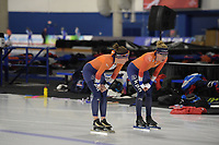 SPEEDSKATING: Calgary, The Olympic Oval, 06-02-2020, ISU World Cup Speed Skating, training, ©foto Martin de Jong