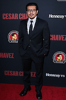 """HOLLYWOOD, LOS ANGELES, CA, USA - MARCH 20: Jacob Vargas at the Los Angeles Premiere Of Pantelion Films And Participant Media's """"Cesar Chavez"""" held at TCL Chinese Theatre on March 20, 2014 in Hollywood, Los Angeles, California, United States. (Photo by David Acosta/Celebrity Monitor)"""