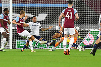 Tomas Soucek of West Ham United shot is blocked during West Ham United vs Aston Villa, Premier League Football at The London Stadium on 30th November 2020