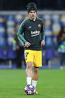 Antoine Griezmann of Barcelona during the warm up<br /> Napoli 25-02-2020 Stadio San Paolo <br /> Football Champions League 2019/2020 - Round 16, 1st leg<br /> SSC Napoli - FC Barcelona<br /> Photo Cesare Purini / Insidefoto