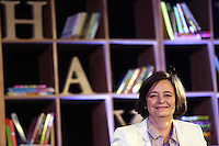 Saturday 24 May 2014, Hay on Wye UK<br /> Pictured: Cherie Booth<br /> Re: The Telegraph Hay Festival, Hay on Wye, Powys, Wales UK.
