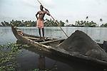 A sandminer of Alleppey, Kerala, india.