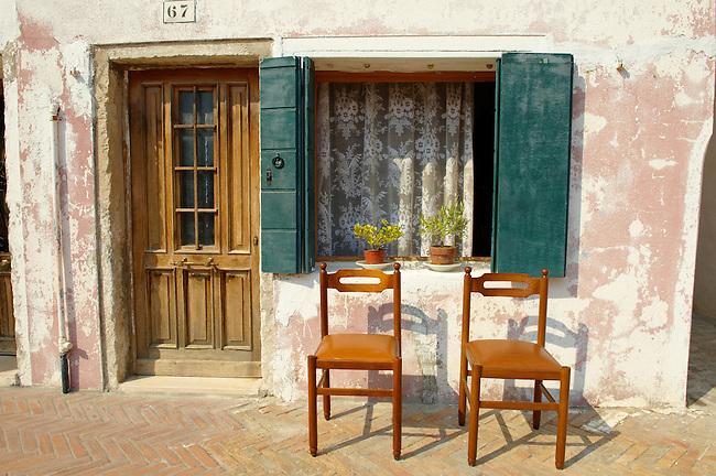 Old House in Burano, Venice