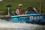 August 11, 2019: Ryan Salzman on the final day on the water of the Forrest Wood Cup on Lake Hamilton in Hot Springs, Arkansas. ©Justin Manning/Eclipse Sportswire/CSM