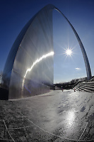 The Gateway Arch, also known as the Gateway to the West, is an integral part of the Jefferson National Expansion Memorial and the iconic image of St. Louis, Missouri.
