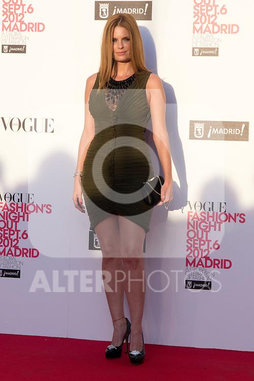 06.09.2012. Vogue Fashion´S Night Out Madrid. In the image Olivia de Borbon (Alterphotos/Marta Gonzalez)