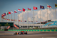 26th September 2020, Sochi, Russia; FIA Formula One Grand Prix of Russia, qualification;  33 Max Verstappen NLD, Aston Martin Red Bull Racing takes 2nd on pole