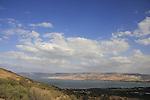 The Sea of Galilee as seen from Mount Poriya