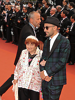 """FRA: """"THE BFG"""" Red Carpet- The 69th Annual Cannes Film Festival - Agnes Varda attend """"THE BFG"""". Red Carpet during The 69th Annual Cannes Film Festival on May 14, 2016 in Cannes, France."""