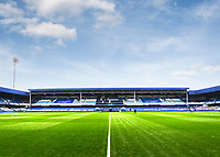 31st October 2020; The Kiyan Prince Foundation Stadium, London, England; English Football League Championship Football, Queen Park Rangers versus Cardiff City; Stadium under sunshine