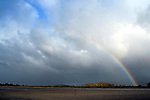 Rainbow of Tapu Bay Motueka. Copyright image Chris Symes/www.shuttersport.co.nz Contact info@shuttersport.co.nz for use of image