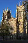 Great Britain, England, Yorkshire, York: West facade of York Minster