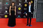 53 FESTIVAL INTERNACIONAL DE CINEMA FANTASTIC DE CATALUNYA. SITGES 2020.<br /> Red Carpet Gala Inauguracion.<br /> Aura Garrido & Miki Esparbe.