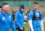 St Johnstone Training…14.04.17<br />Murray Davidson pictured during training at McDiarmid Park this morning ahead of tomorrow's game against Aberdeen.<br />Picture by Graeme Hart.<br />Copyright Perthshire Picture Agency<br />Tel: 01738 623350  Mobile: 07990 594431