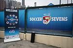 Set-up and Branding - HKFC Citi Soccer Sevens 2017